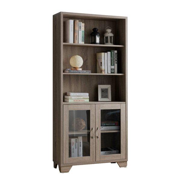 Tidworth Wooden Standard Bookcase By Loon Peak