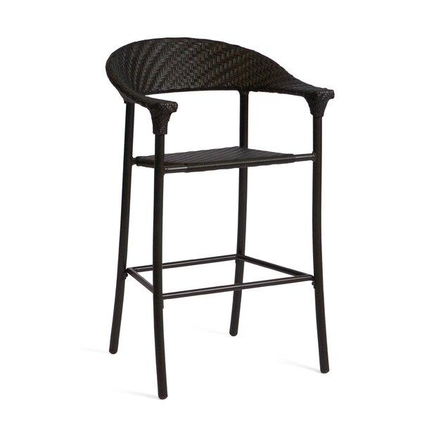 Barlow Stationary 31-inch Patio Bar Stool by Woodard Woodard