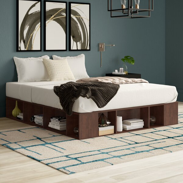 Mcelvain Storage Platform Bed by Mercury Row
