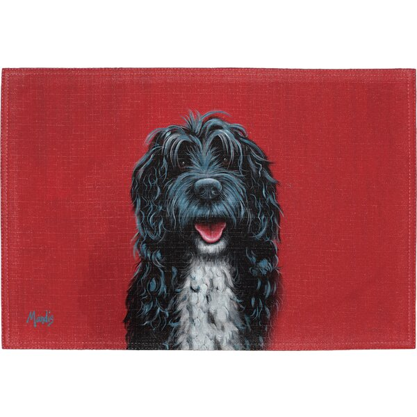 Portuguese Water Dog Placemat (Set of 2) by East Urban Home
