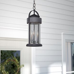 Colwyn 3-Light Outdoor Hanging Lantern By Gracie Oaks Outdoor Lighting