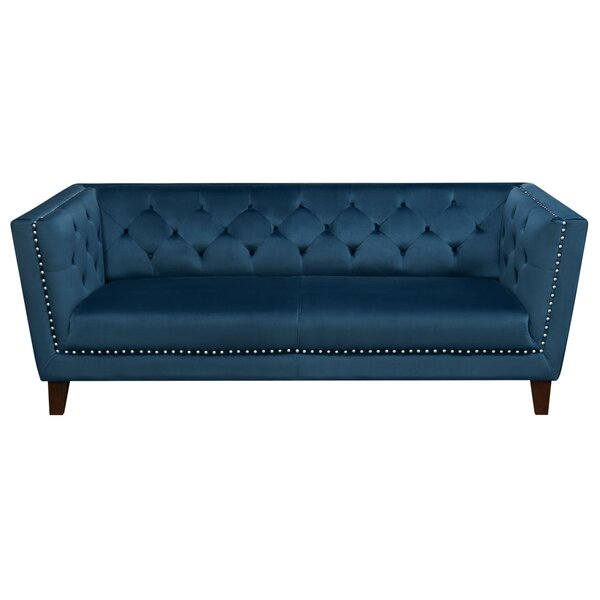Grand Tufted Back Standard Sofa by Diamond Sofa