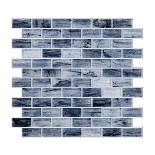 Fusion Glass Mosaic 1 x 1.85 Glass Brick Joint Mosaic Wall & Floor Tile
