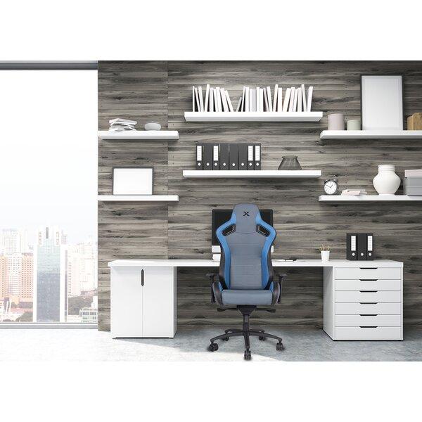 Carbon Line Sleek Design Metal Office Chair by RapidX