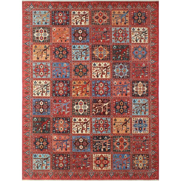 One-of-a-Kind Woodmoor Qurban Hand-Knotted Wool Rust/Red Area Rug by Loon Peak