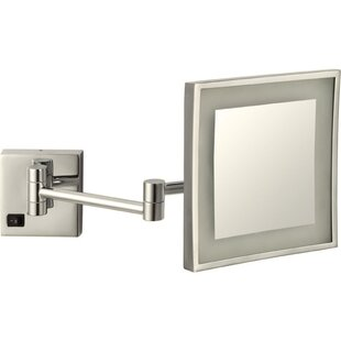 Compare & Buy Square Wall Mounted Makeup Mirror By Glimmer by Nameeks