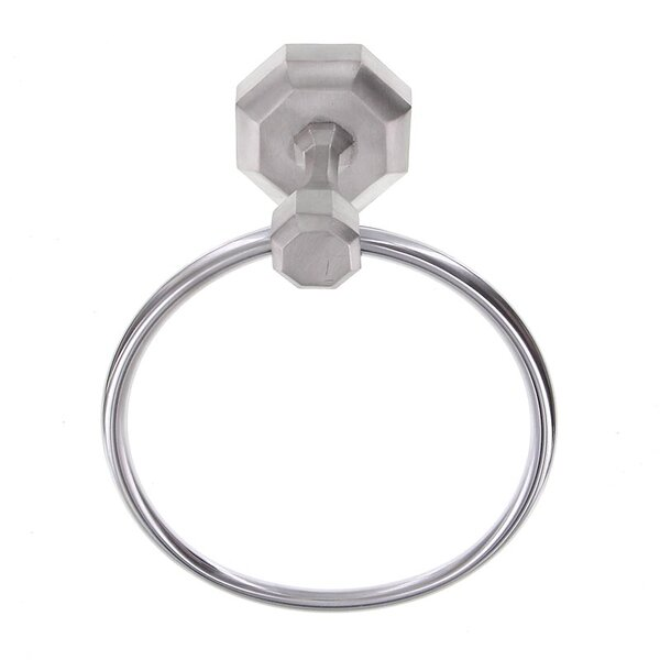 Archimedes Wall Mounted Towel Ring by Vicenza Designs