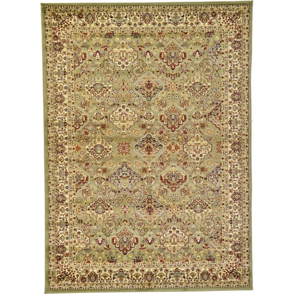 Fairmount Light Green Area Rug by Three Posts