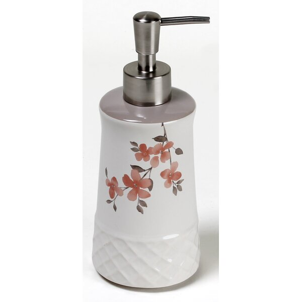 Coral Garden Lotion Dispenser by Saturday Knight, LTD