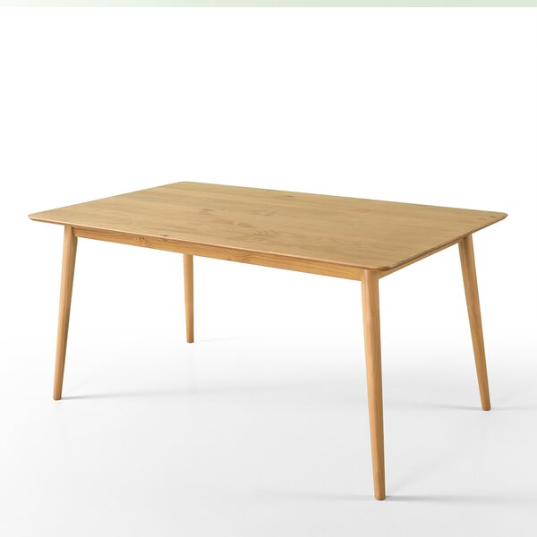 Goodyear Mid Century Modern Solid Wood Dining Table by Corrigan Studio