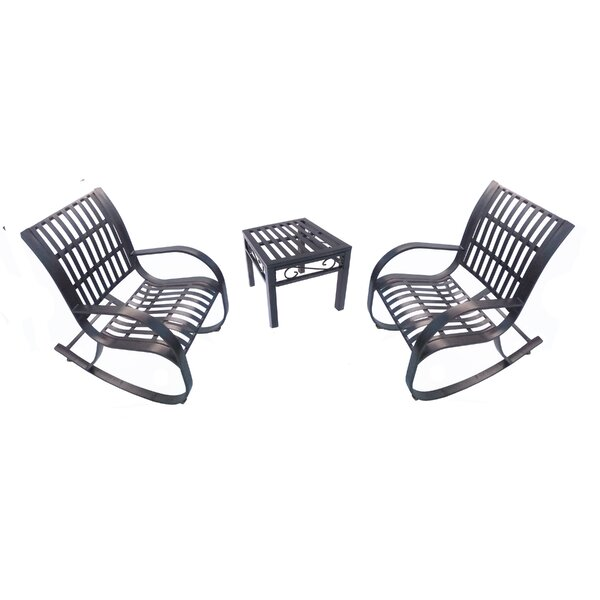 Noble 3 Piece Conversation Set by Oakland Living