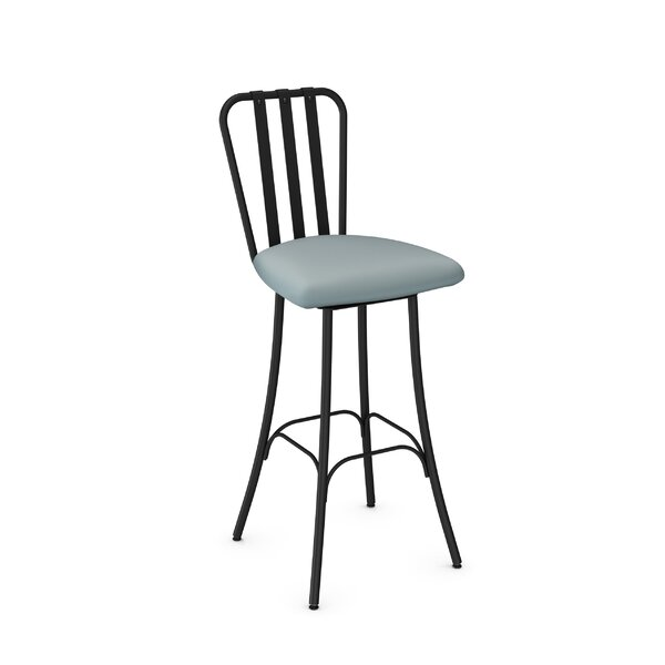 Middleburg 30.75 Swivel Bar Stool by Latitude Run