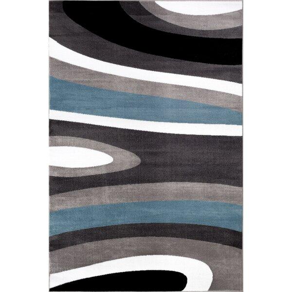 Alexandrea Gray/White Area Rug by Zipcode Design