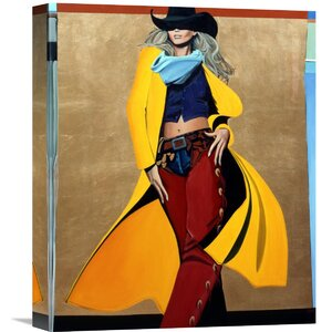 'The Runaway' by David DeVary Painting Print on Wrapped Canvas by Global Gallery