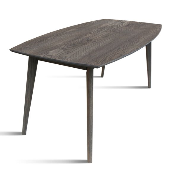 Onique Solid Wood Dining Table by Union Rustic
