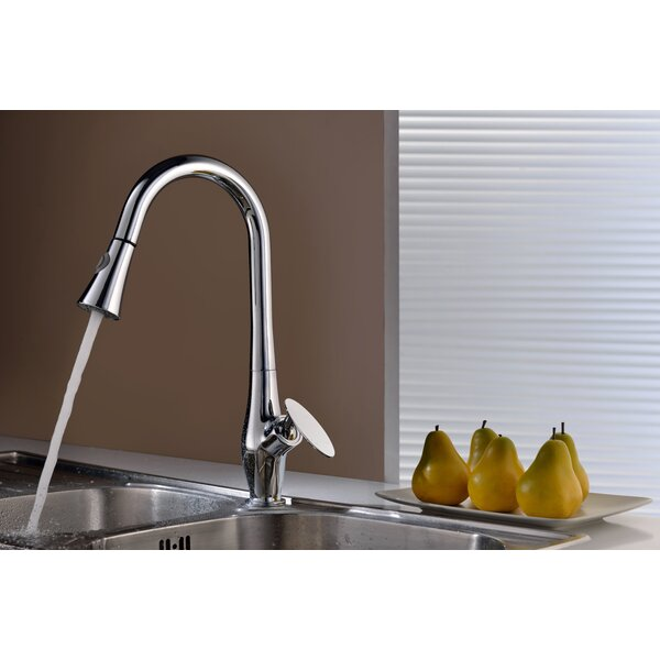 Single Handle Deck Mounted Faucet by American Imaginations American Imaginations