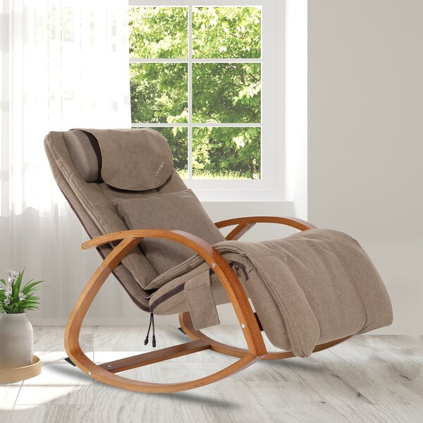 3D Reclining Heated Full Body Massage Chair By Red Barrel Studio