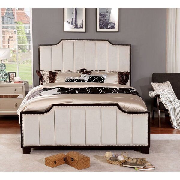Bertrand Upholstered Standard Bed by Everly Quinn