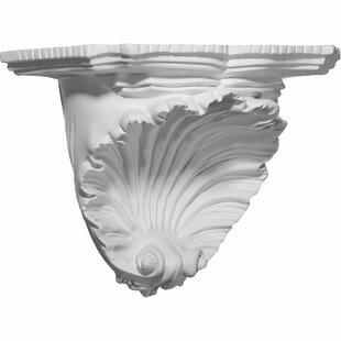 Shell 7 3/8H x 10 3/8W x 6D Decorative Shelf by Ekena Millwork
