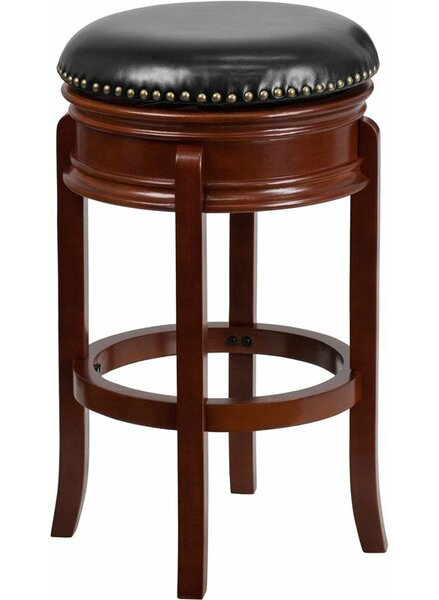 Jenkin Backless 29'' Swivel Bar Stool by Charlton Home