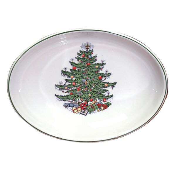 Original Christmas Tree Traditional Oval Vegetable