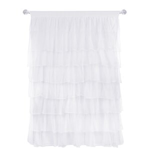 Pearson Solid Sheer Single Curtain Panel