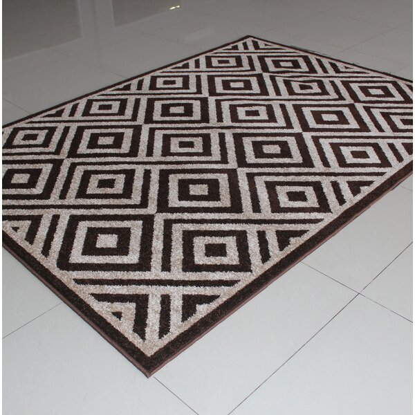 Rosendahl Brown Area Rug by Wrought Studio