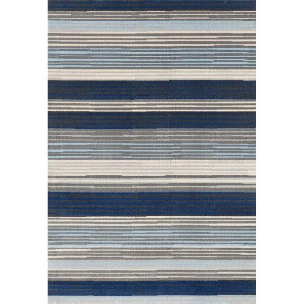 Barraclough Modern Blue/Gray Area Rug by Orren Ellis