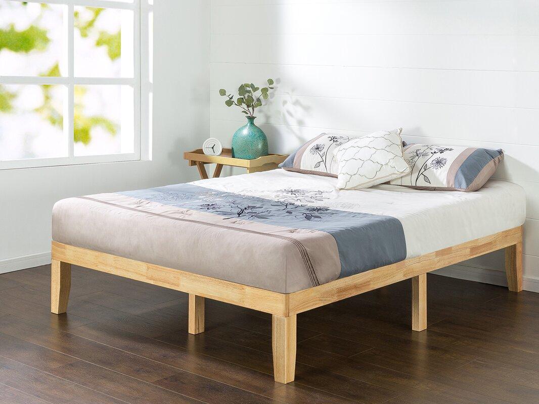 Wayfair Queen Bed Platform Wayfair Canada Queen Bed Frame: Alwyn Home Solid Wood Platform Bed & Reviews