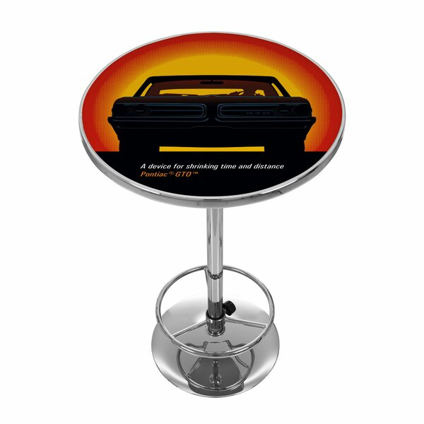 #1 Pontiac GTO Time And Distance Pub Table By Trademark Global Wonderful