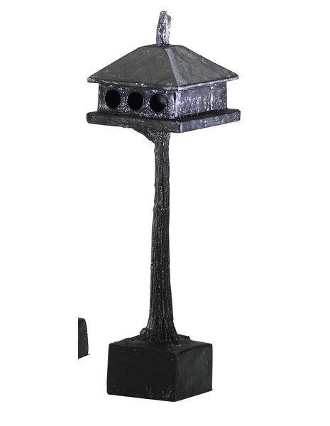 Small 11.5 in x 2 in Decorative Bird House by Cyan Design