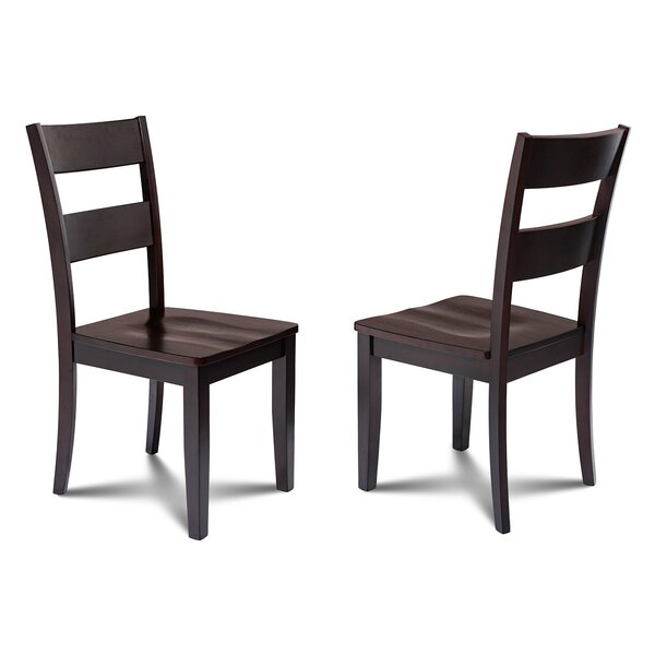 Nagle Solid Wood Dining Chair (Set of 2) by Andover Mills