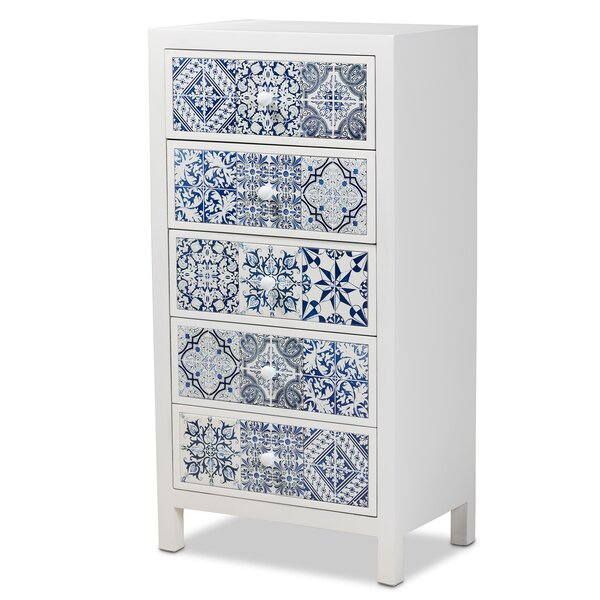 Jervis 5 Drawer Accent Chest by Bloomsbury Market Bloomsbury Market