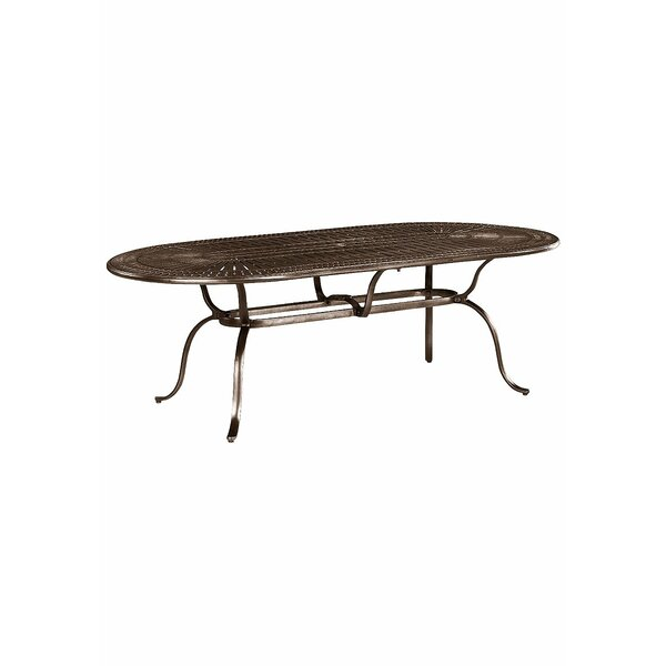 Banchetto Metal Dining Table by Tropitone