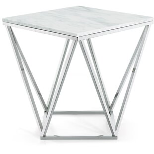 Look for Robeson Marble End Table By Willa Arlo Interiors
