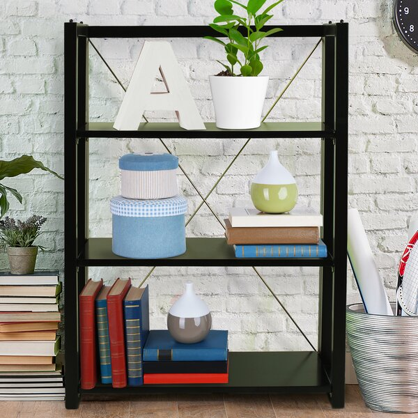 Citiscape Folding/Stacking 38 Bookcase by Wildon Home ®