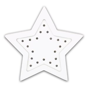 Star Marquee Wall Light by The Peanut Shell