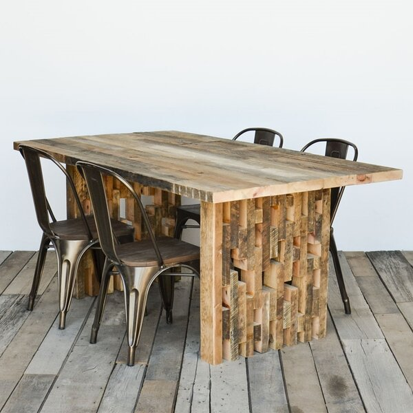 The Space Between Solid Wood Dining Table by Urban Wood Goods