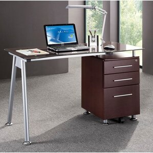 Locking Desks You'll Love | Wayfair