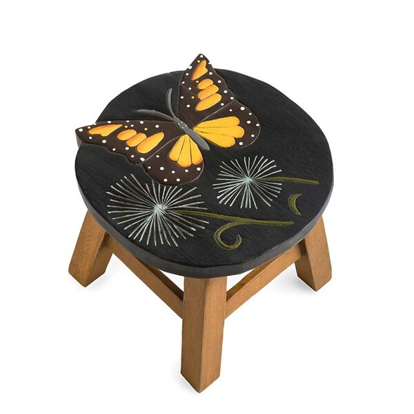 Butterfly Accent Stool by Plow & Hearth