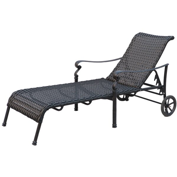 Kentland Patio Chaise Lounge (Set of 2) by Darby Home Co