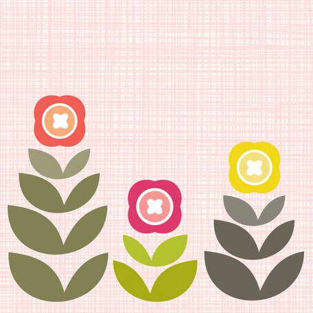 Modern Blooms Canvas Art by Oopsy Daisy
