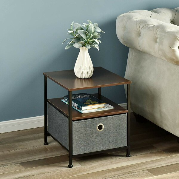 Harp End Table with Storage by Red Barrel Studio