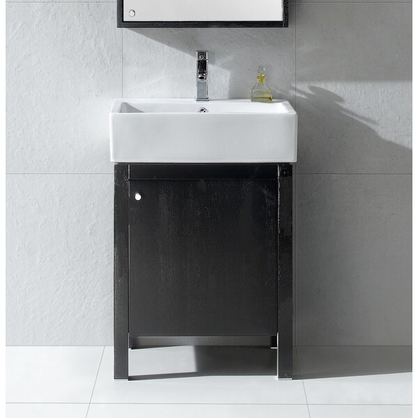 Bourassa 24 Single Bathroom Vanity Set by Wrought Studio