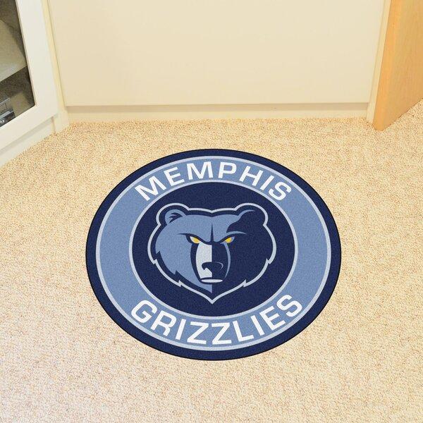 NBA Memphis Grizzlies Roundel Mat by FANMATS