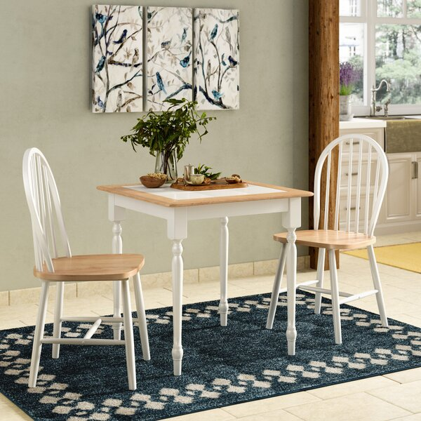 Llanas 3 Piece Dining Set by August Grove
