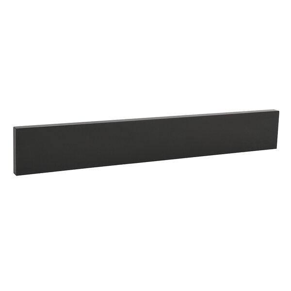TechStone™ 25 x 3 Backsplash in Broad Black by Ronbow