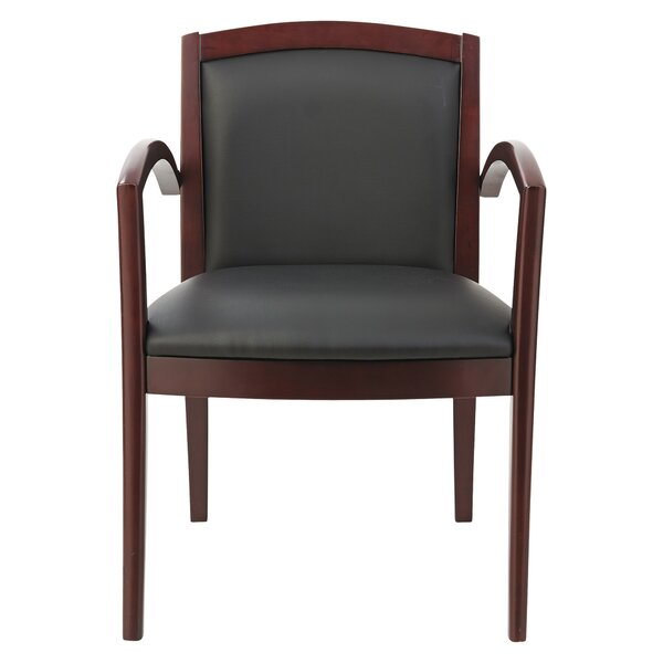 Reception Lounge 500 Series Leather Guest Chair by Alera®