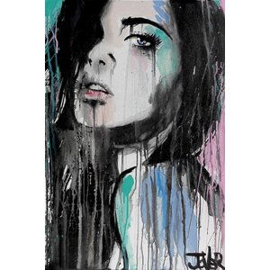 'Forever Faraway' Graphic Art on Wrapped Canvas by East Urban Home