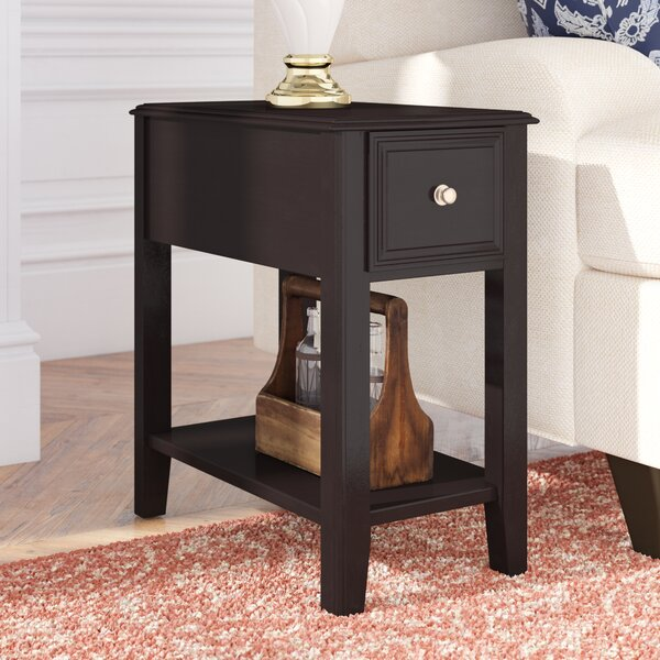 Hancock End Table With Storage By Darby Home Co